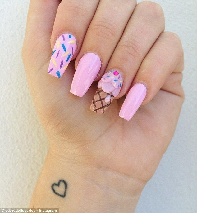ice cream nails - Google Search