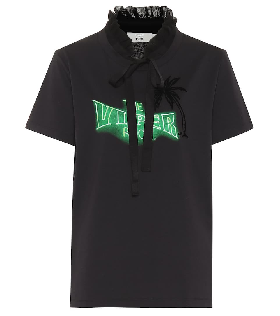 Coach - x The Viper Room cotton top | Mytheresa