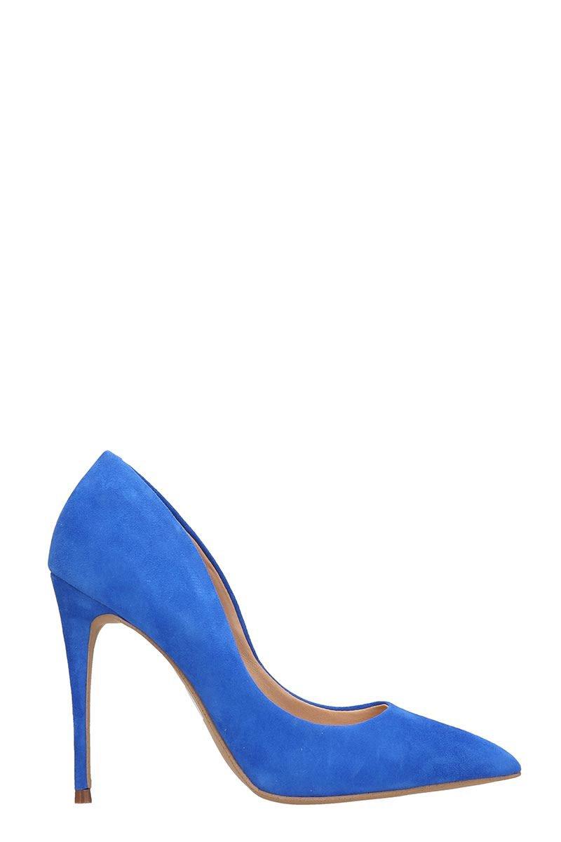 Steve Madden Blue Suede Pumps Sandals