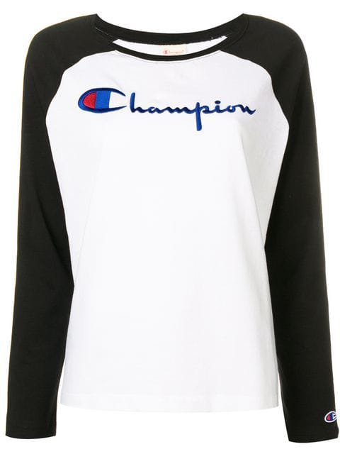 Champion embroidered logo sweatshirt $52 - Buy SS19 Online - Fast Global Delivery, Price