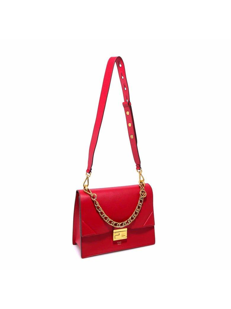 Fendi Fendi Kan U Shoulder Bag - Red - 11105922 | italist