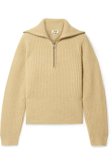 Acne Studios | Karolyn ribbed wool sweater | NET-A-PORTER.COM