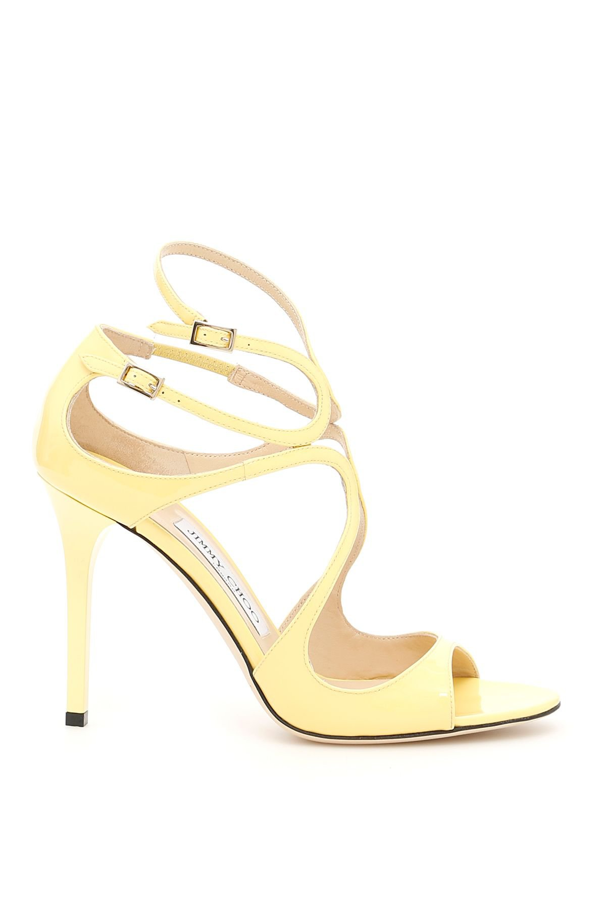 Jimmy Choo Lang Patent Sandals