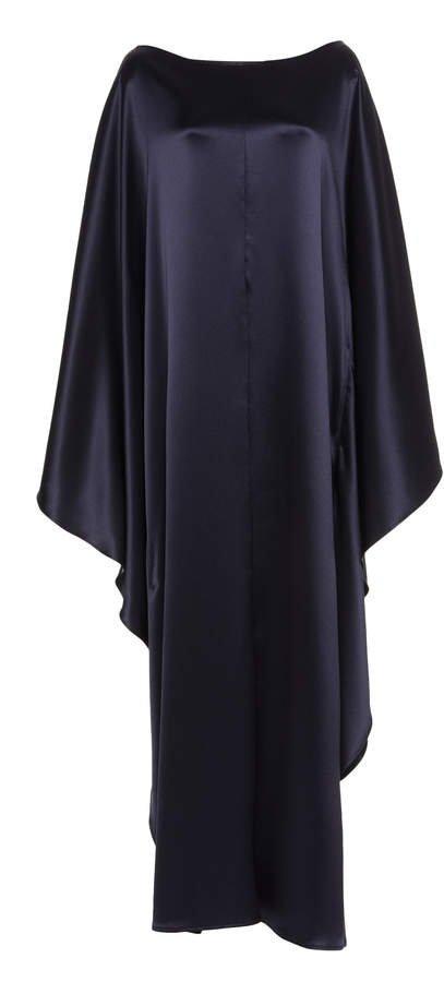 Deveaux Astrid Satin Maxi Dress