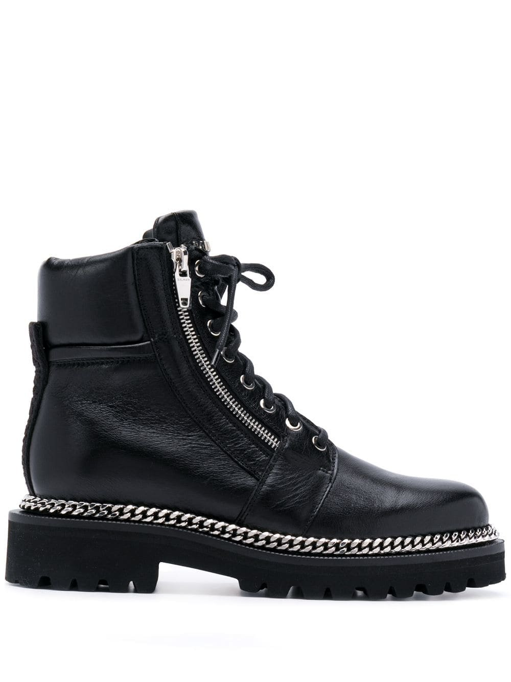 Balmain Ranger Army Ankle Boots - Farfetch