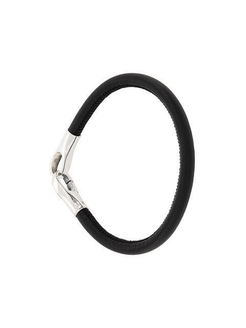 Bottega Veneta nappa leather bracelet