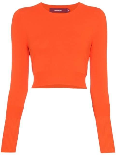 Sies Marjan Knitted Crop Top - Farfetch