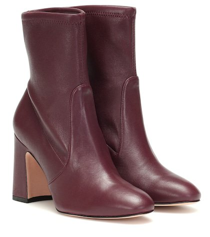 Niki 90 leather ankle boots