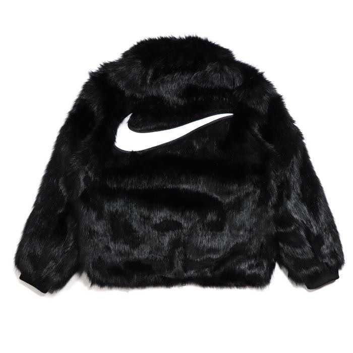 nike fur coat