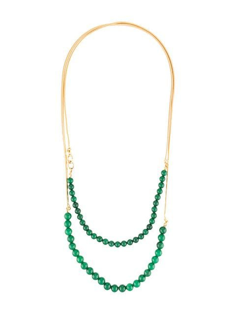 Crystalline Jade Beads Necklace