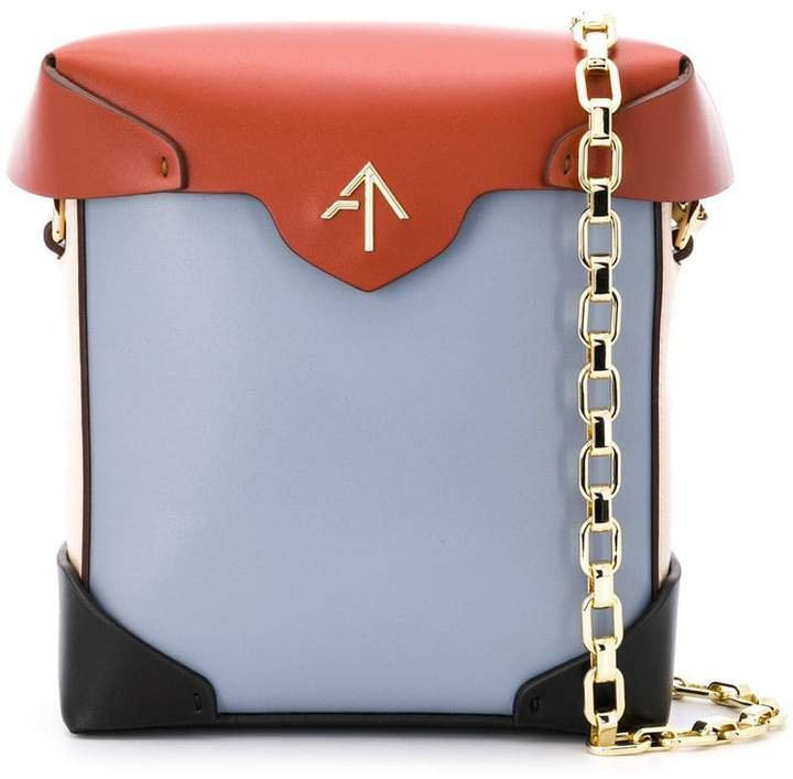 Manu mini Pristine chain shoulder bag