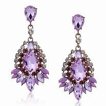 purple earings - Bing images