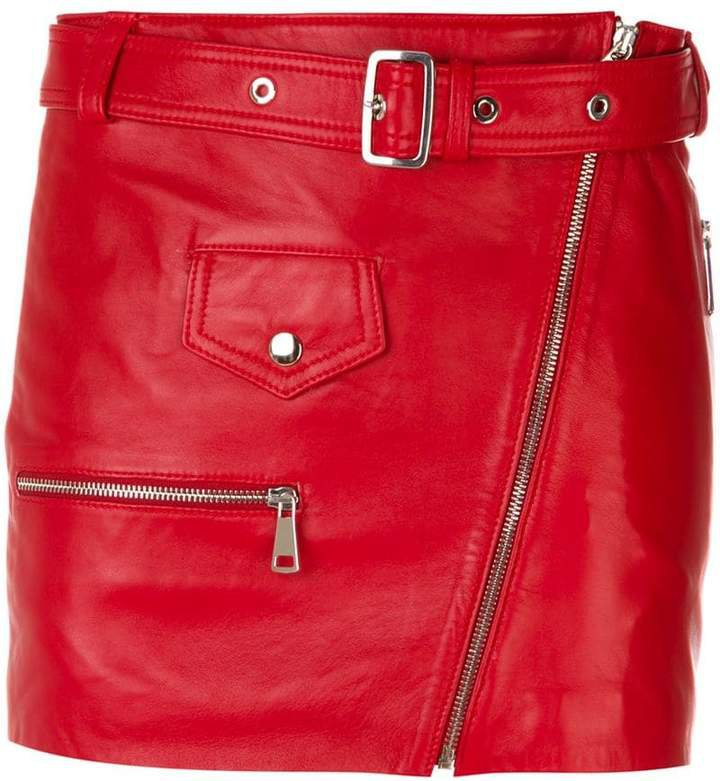 Manokhi belted short skirt
