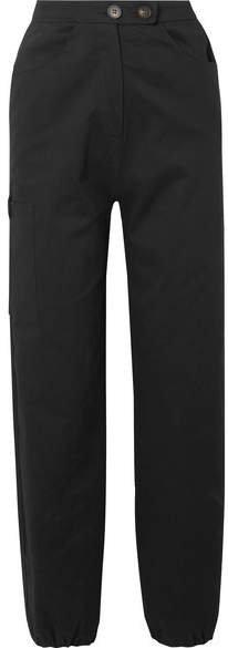 The Range - Cotton-blend Twill Cargo Pants - Black