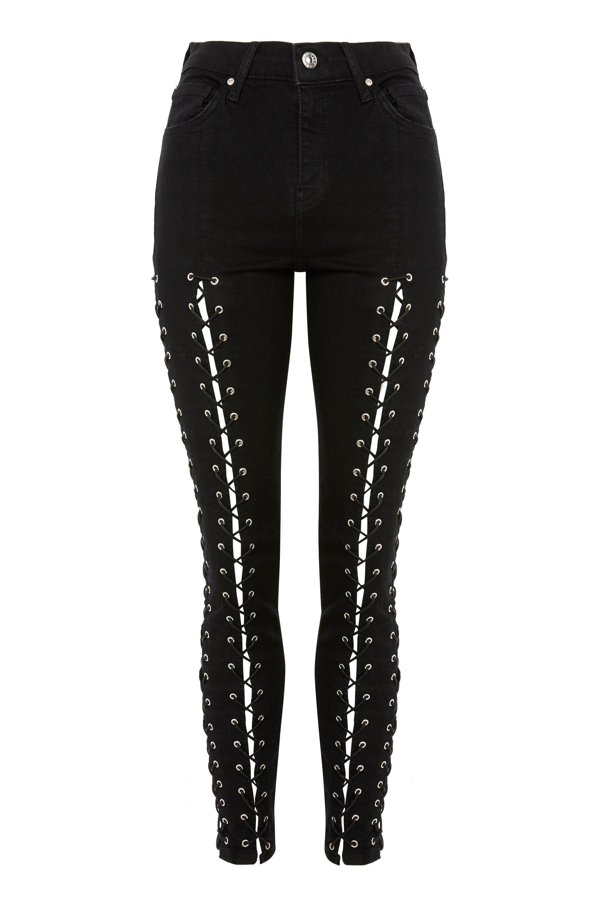 MOTO Extreme Lace Up Jamie Jeans