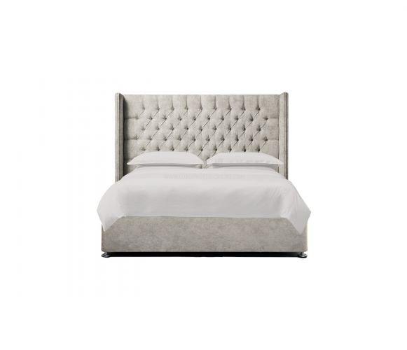 Wingback Chesterfield Headboard & Divan Bed
