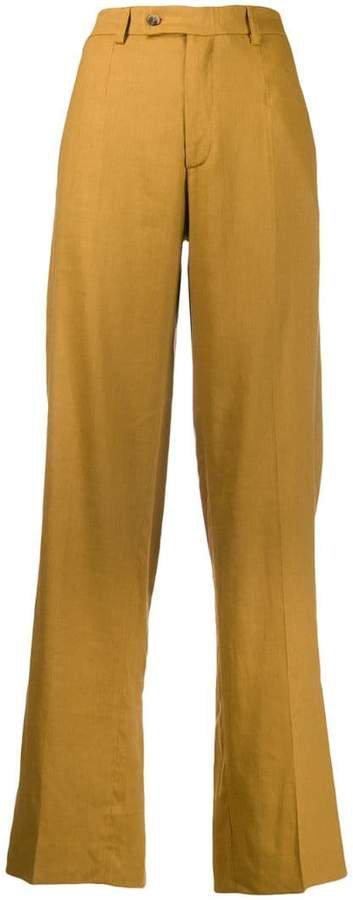 MRZ straight-leg trousers