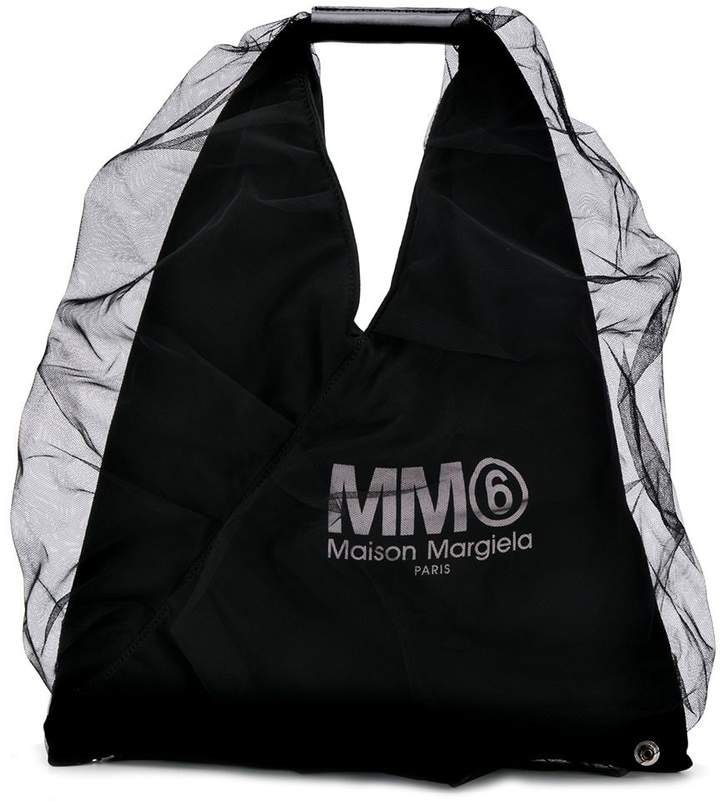 Japanese tulle tote bag