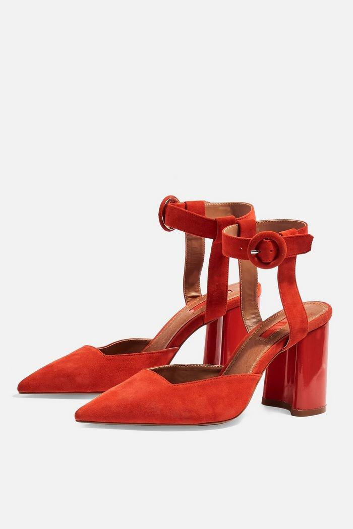 GRACEFUL Ankle Strap Heels   Topshop