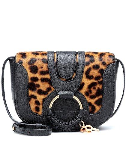 Hana Mini leather shoulder bag