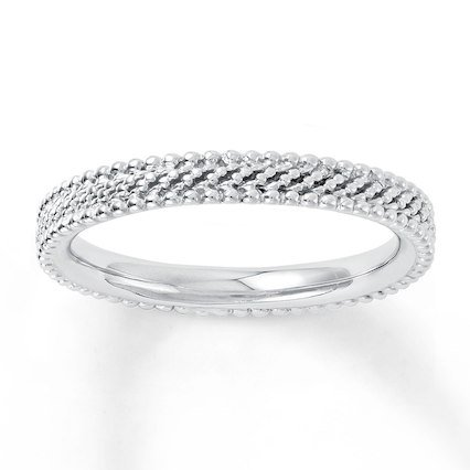 Kay - Stackable Ring Sterling Silver