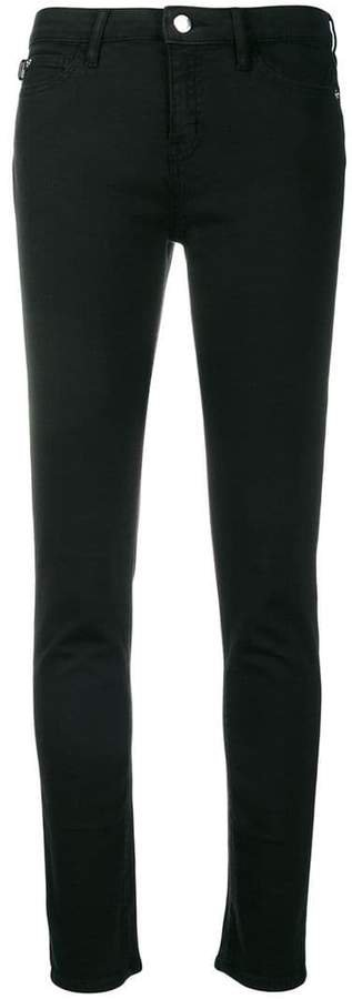heart pocket skinny jeans