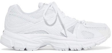 Reebok Runner 200 Rubber-trimmed Mesh Sneakers - White