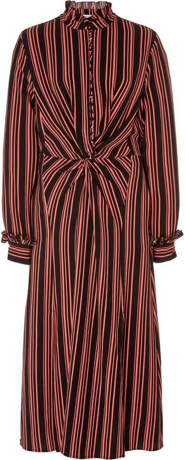 HOFMANN COPENHAGEN Alicia Split Midi Dress