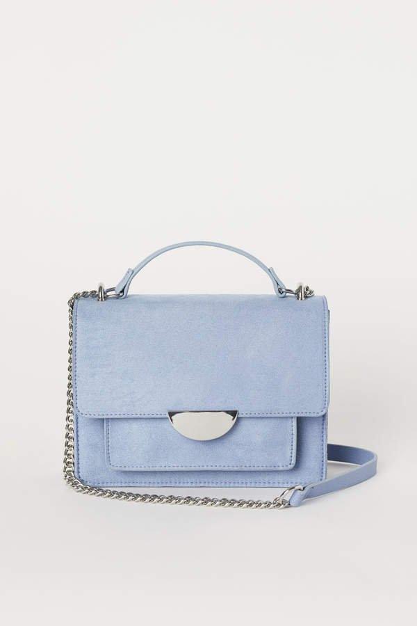 Small Shoulder Bag - Blue
