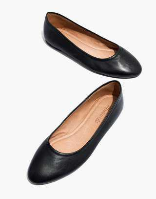 The Reid Ballet Flat in Leather