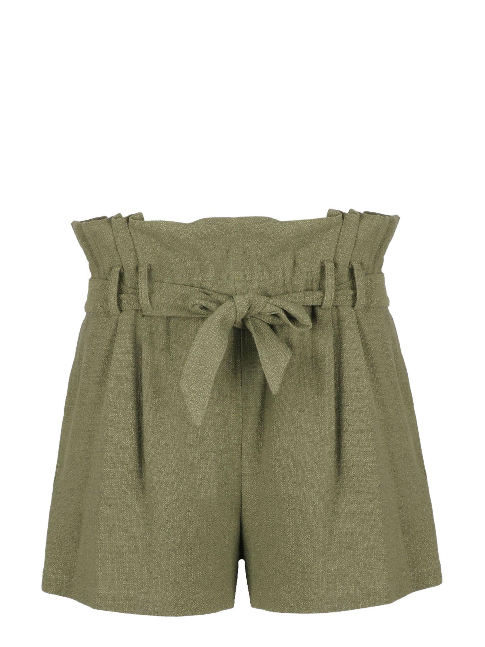 Iro Flared Tie Waist Shorts