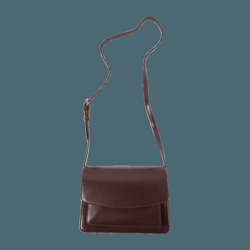 Front Flap Rectangular Crossbody Bag