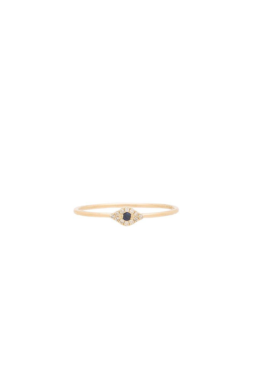 Mini Evil Eye Stack Ring