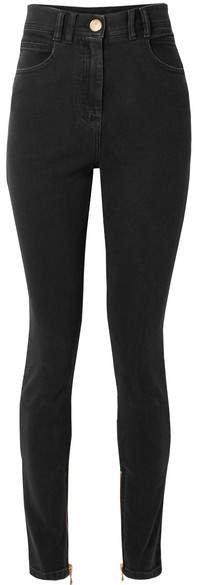 High-rise Skinny Jeans - Black