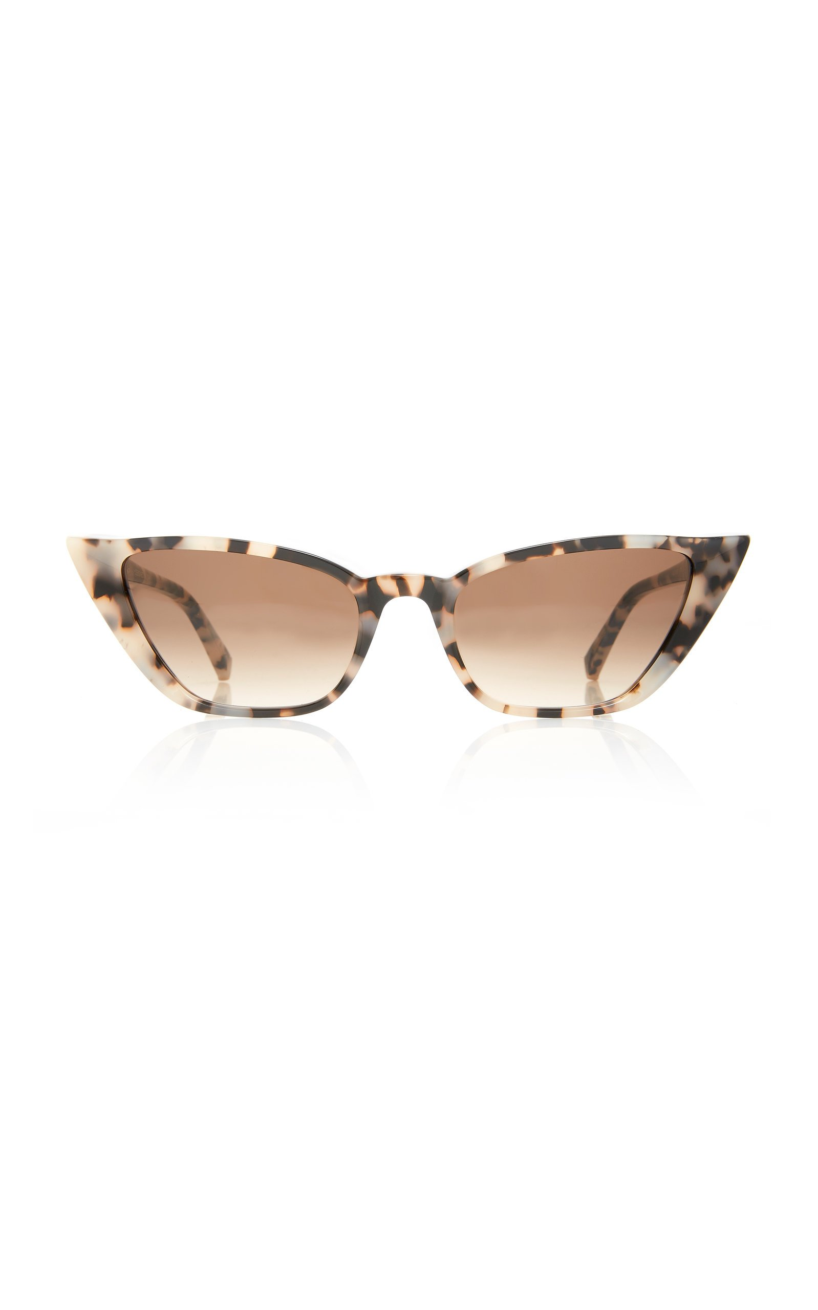 Kate Young Fawn Cat-Eye Acetate Sunglasses