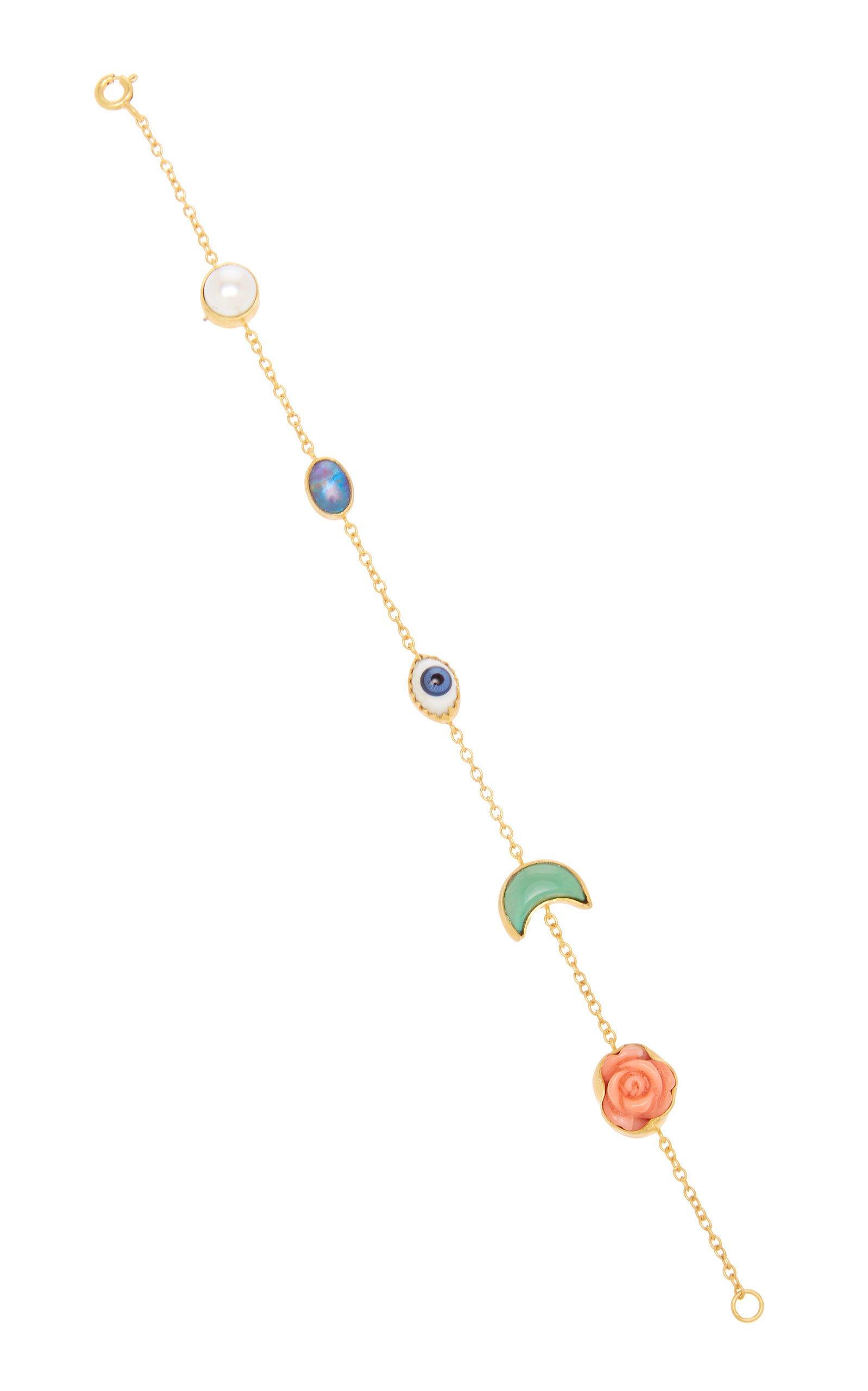 Grainne Morton Mini Moon Charm Bracelet