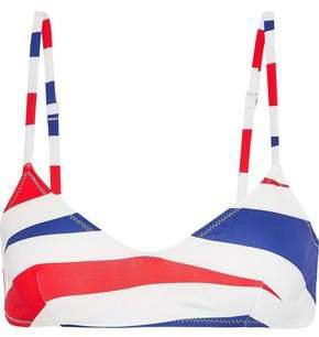 The Rachel Printed Bikini Top