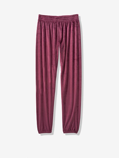 Velour Classic Pant - PINK - pink