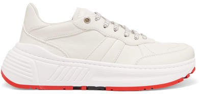 Speedster Leather Sneakers - White