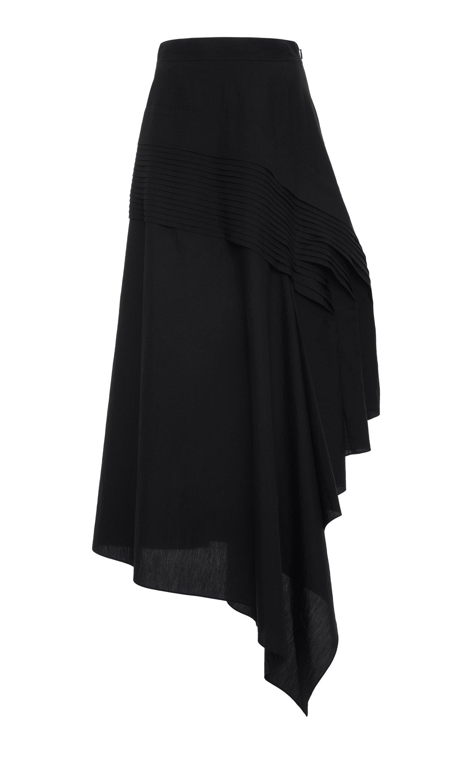 Loewe Plissé Side Midi Skirt Size: 42