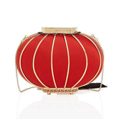 Charlotte Olympia Women's Designer Clutches and Handbags | Charlotte Olympia - LANTERN BAG