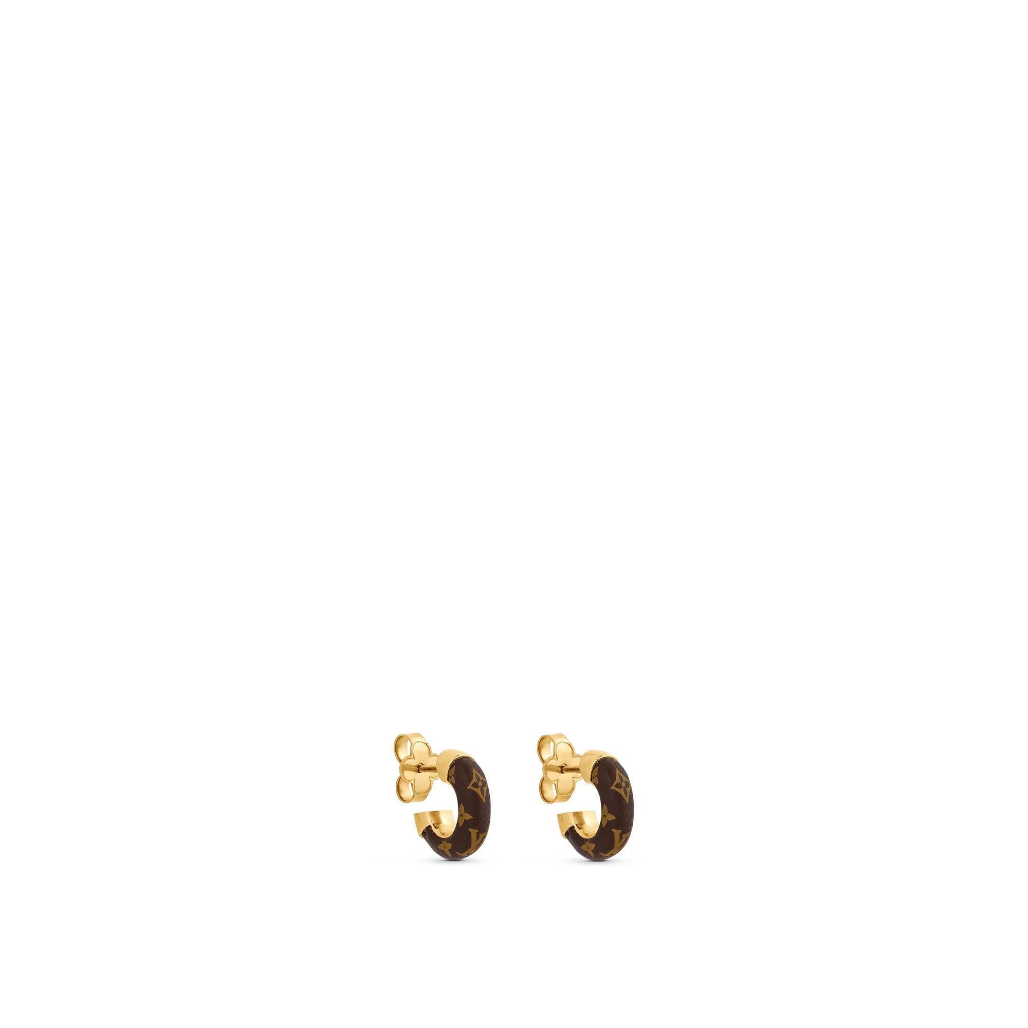 Wild LV Mini Hoop Earrings - Accessories | LOUIS VUITTON ®