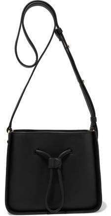Soleil Mini Leather Bucket Bag