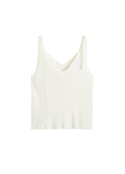 Violeta BY MANGO Bows knit top