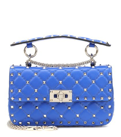 Valentino Garavani Rockstud Spike Small leather shoulder bag