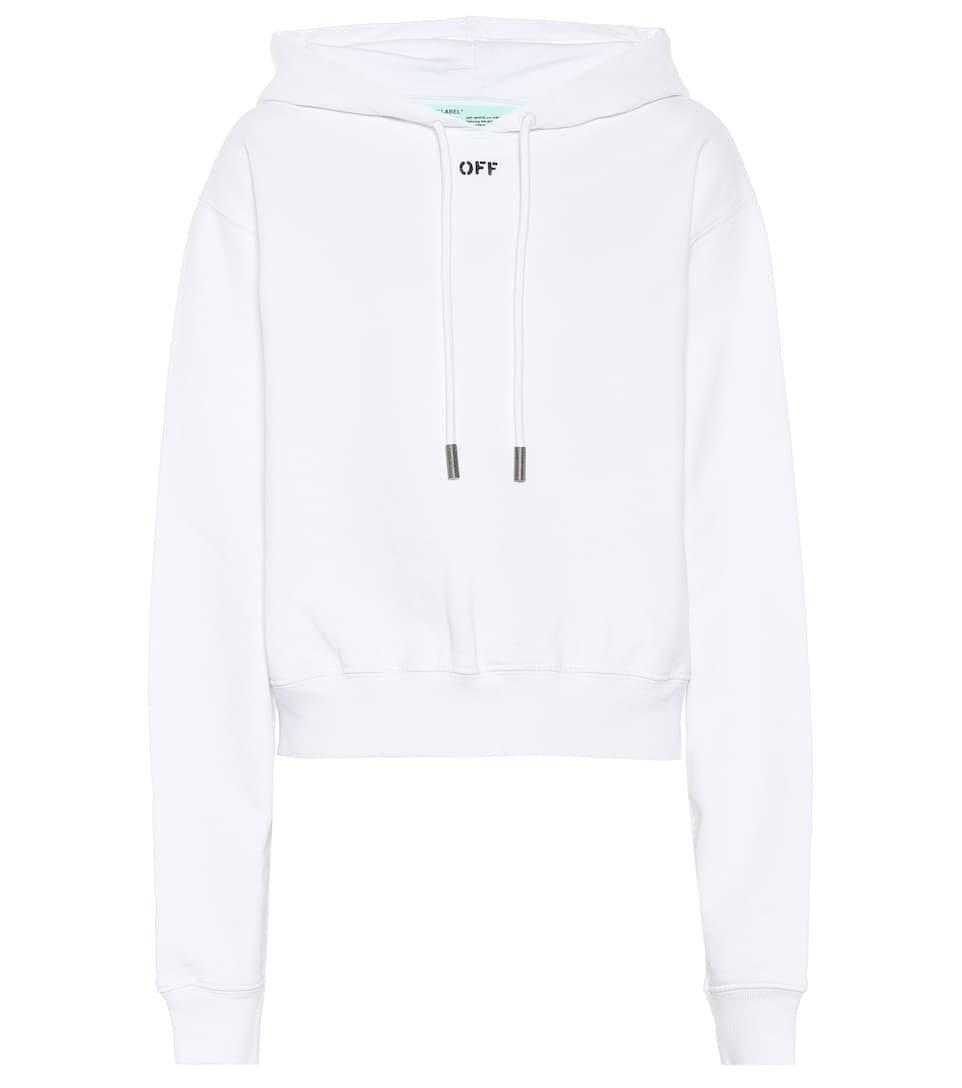 Cotton Hoodie - Off-White | mytheresa.com
