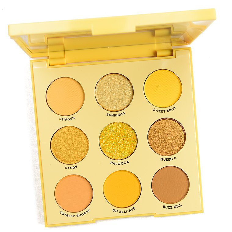 ColourPop Uh-Huh Honey Eyeshadow Palette Review & Swatches