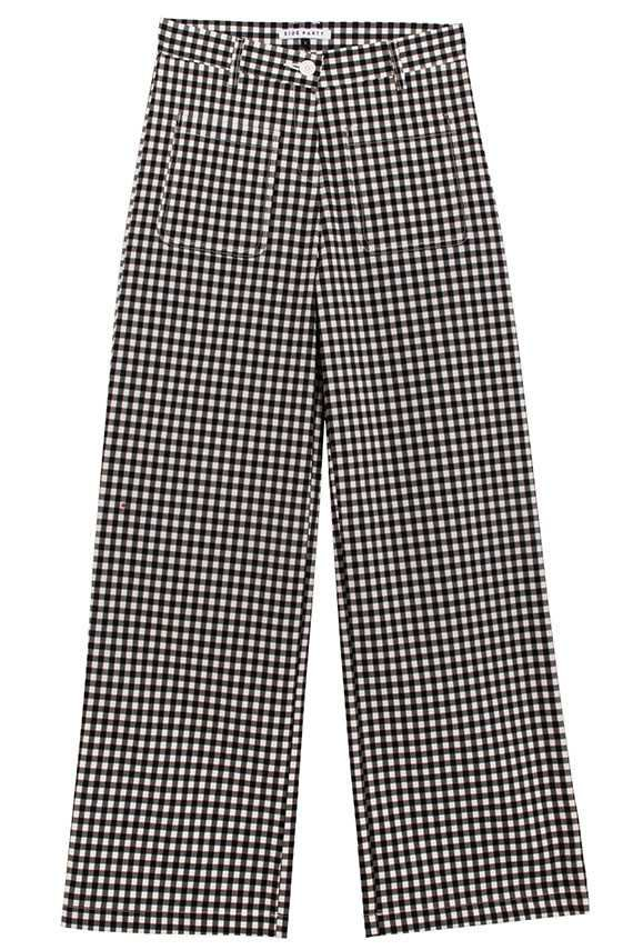 Side Party - Dare Gingham Relaxed Pants | BONA DRAG