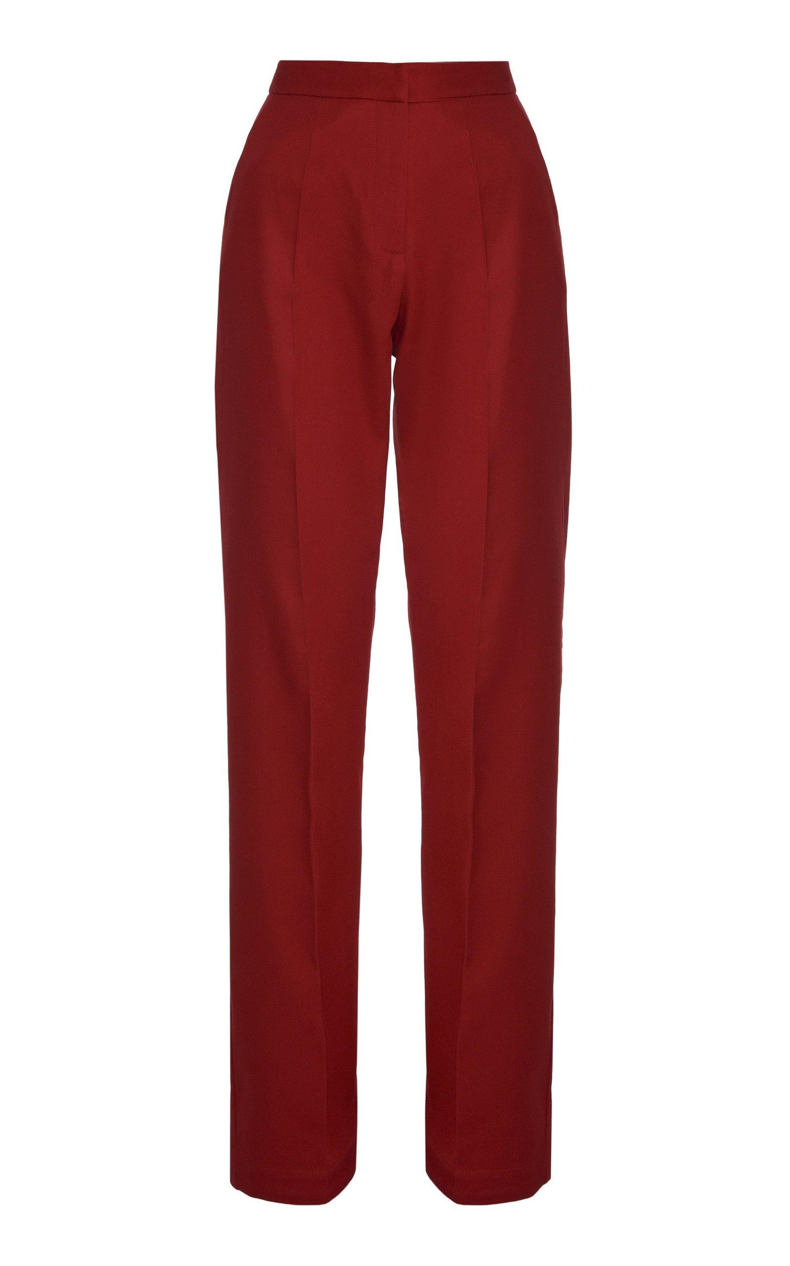Lado Bokuchava Straight Leg Cotton Pants