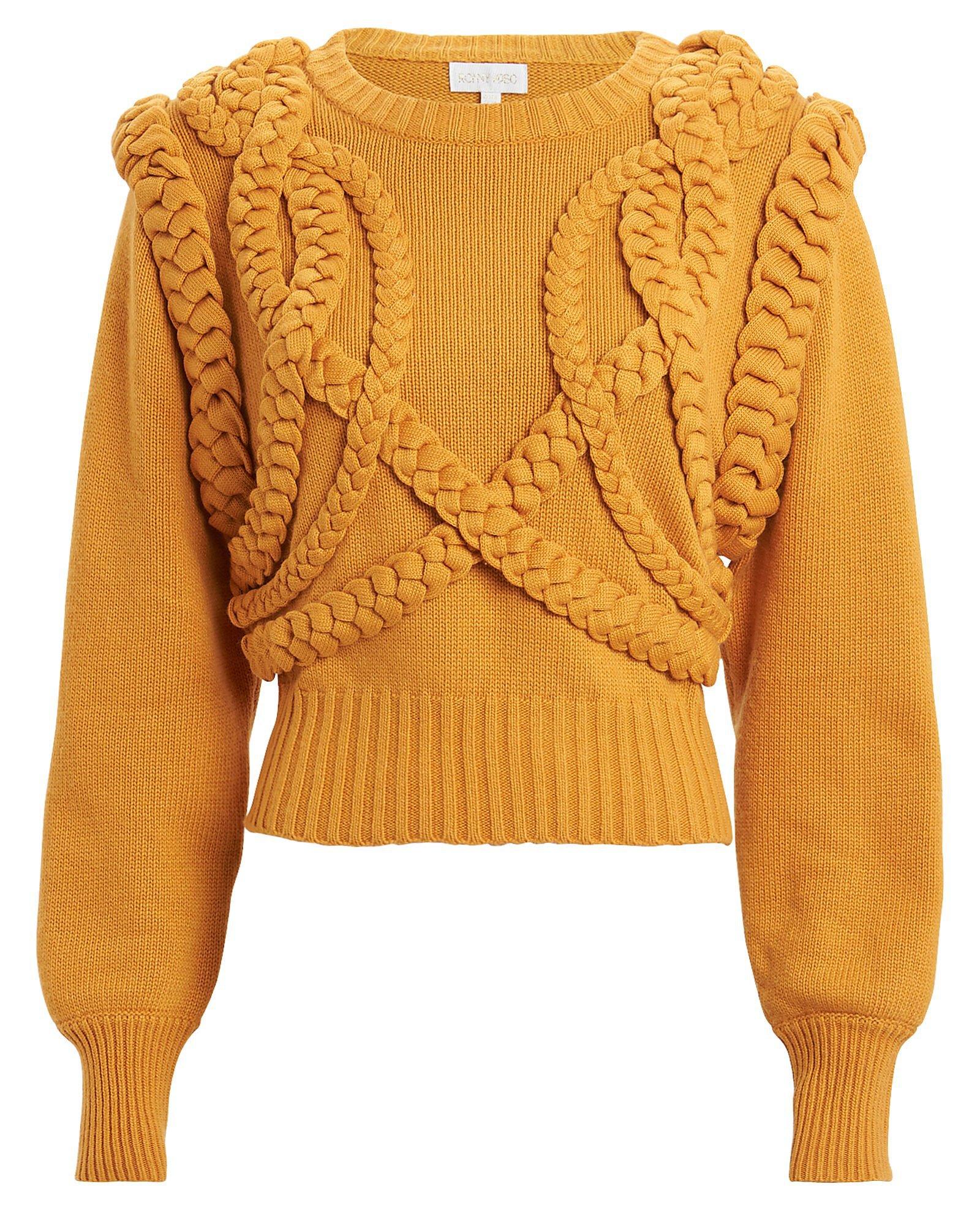 Ronny Kobo | Yeva Cable Knit Sweater | INTERMIX®